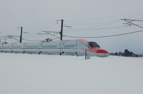 「JR田沢湖線」 撮影場所:JR田沢湖線四ツ屋駅周辺 撮影日:2013.3.23 JR-1