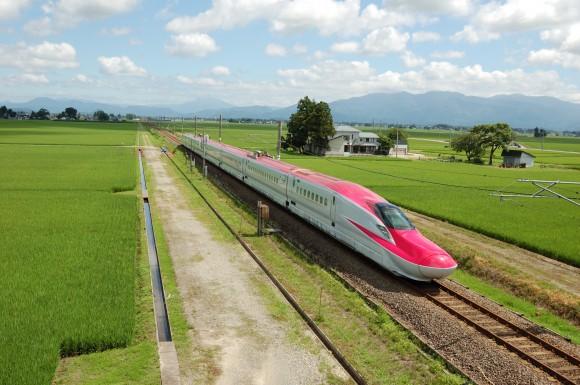 「JR田沢湖線」 撮影場所:JR田沢湖線四ツ屋駅周辺 撮影日:2013.8.4 JR-11