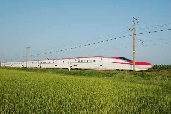 「JR田沢湖線」 撮影場所:JR田沢湖線鑓見内駅周辺 撮影日:2013.8.15 JR-12