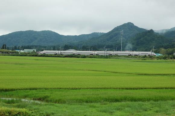 「JR田沢湖線」 撮影場所:JR田沢湖線長野駅周辺 撮影日:2013.8.24 JR-13