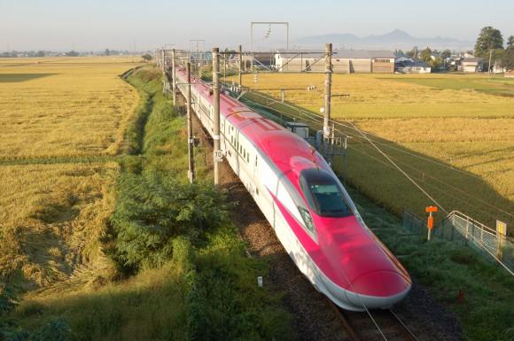 「JR田沢湖線」 撮影場所:JR田沢湖線四ツ屋駅周辺 撮影日:2013.9.20 JR-15