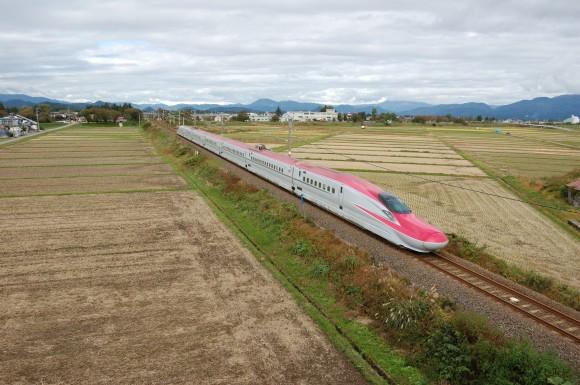 「JR田沢湖線」 撮影場所:JR田沢湖線長野駅周辺 撮影日:2013.10.21 JR-16