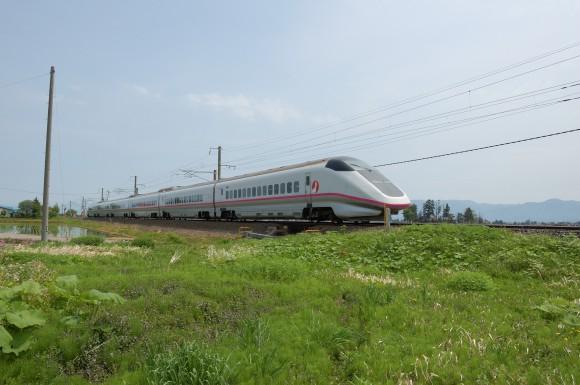 「JR田沢湖線」 撮影場所:JR田沢湖線四ツ屋駅周辺 撮影日:2013.5.26 JR-3