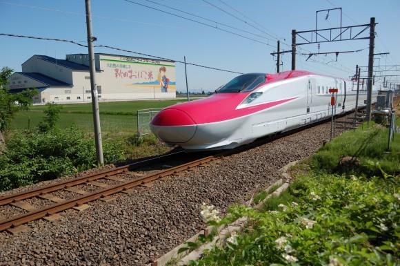 「JR田沢湖線」 撮影場所:JR田沢湖線四ツ屋駅周辺 撮影日:2013.6.12 JR-7